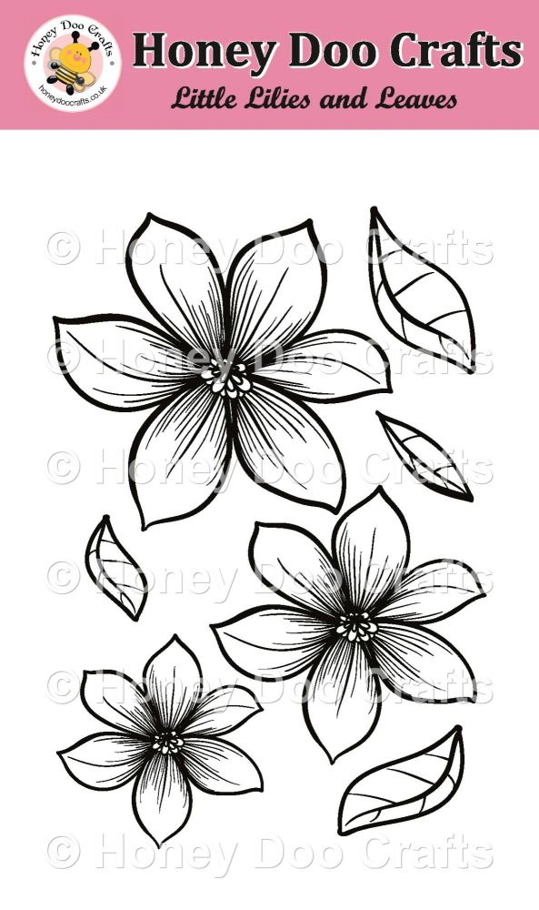 Little Lilies and Leaves