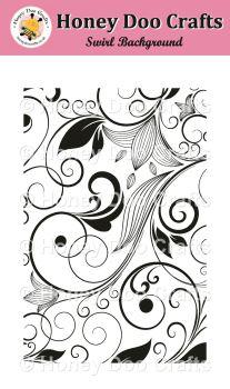 Swirl Background   (A6 Stamp)