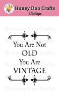 Vintage    (A7 Stamp)