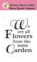 Flower Garden  (A7 Stamp)