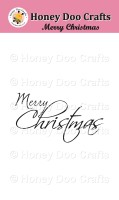 Merry Christmas  (A7 Stamp)