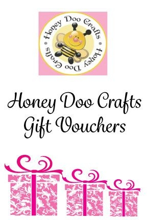 £25.00 Gift Voucher From Honey Doo Crafts