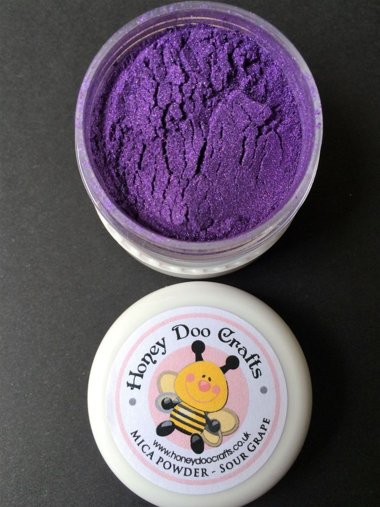 New - Sour Grape - Mica Powder