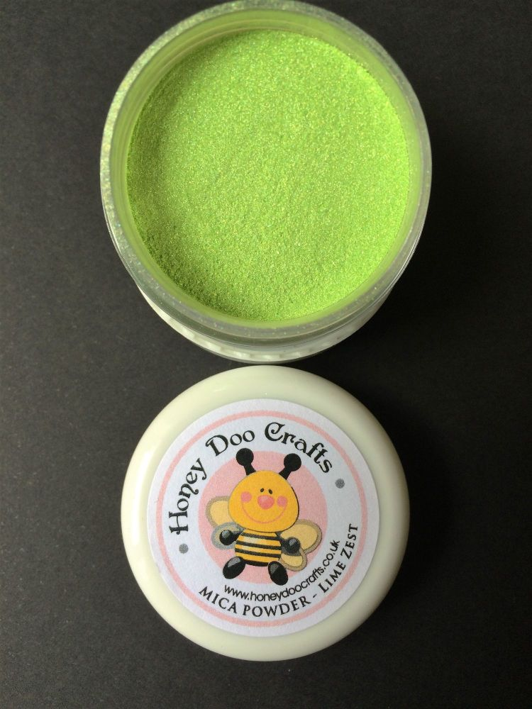 New - Lime Zest - Mica Powder