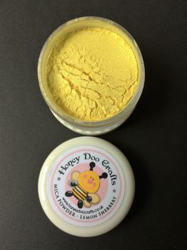 Lemon Sherbert - Mica Powder