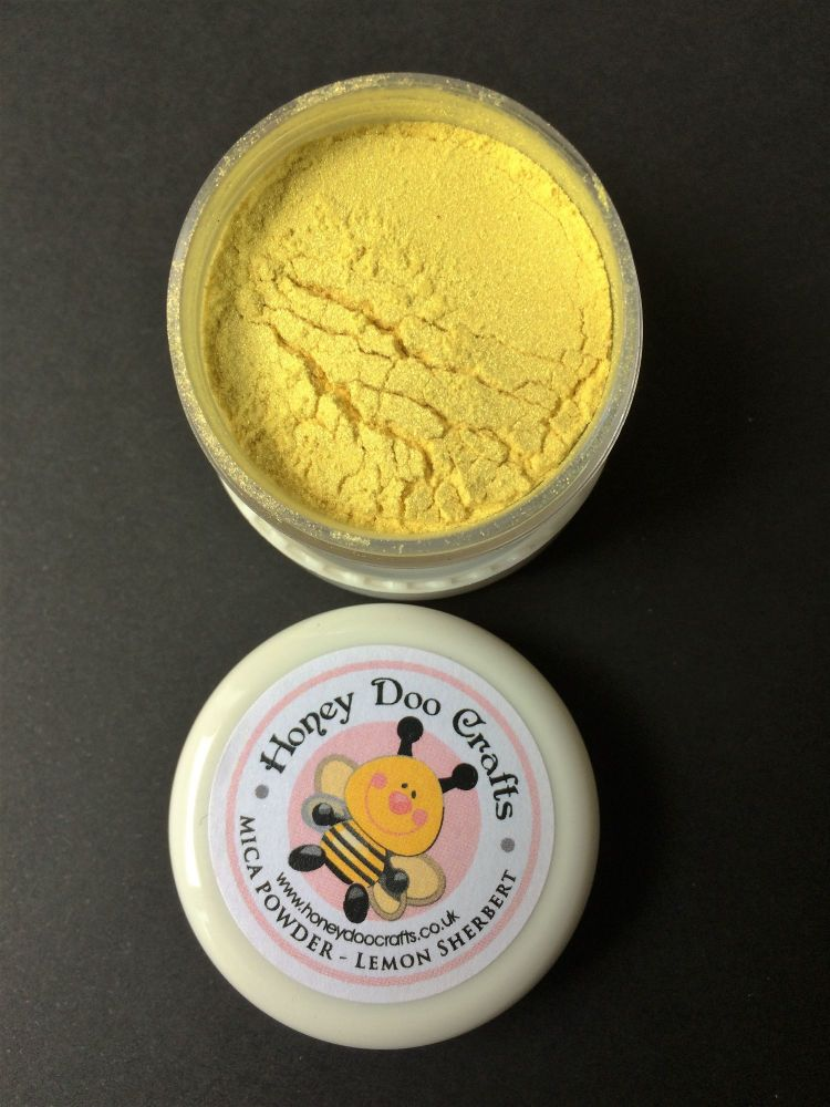 New - Lemon Sherbert - Mica Powder