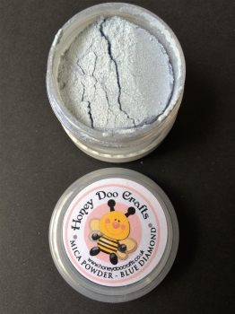 Honey Doo Crafts - Blue Diamond - Mica Powder