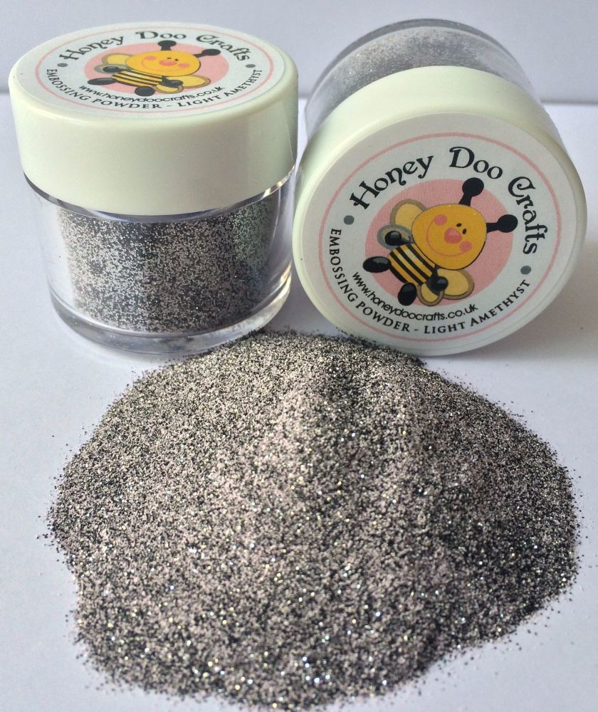 New Honey Doo Crafts - Embossing Glitter - Light Amethyst - As Seen On TV