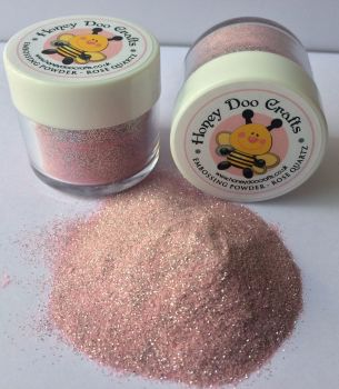 New Honey Doo Crafts 20ml Jar Of Embossing Glitter - Rose Quartz - As Seen On TV