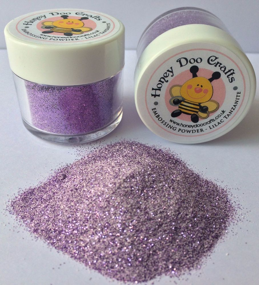 New Honey Doo Crafts  Embossing Glitter - Lilac Tanzanite - As Seen On TV
