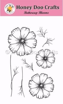 Buttercup Blooms    (A6 Stamp)