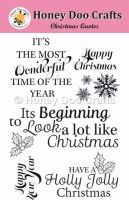 Christmas Quotes  (A6 Stamp)