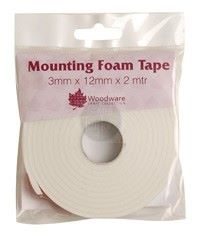 Woodware - Mounting Foam Tape - 3mm