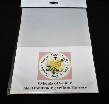 Vellum - Specially designed and perfect for making flowers