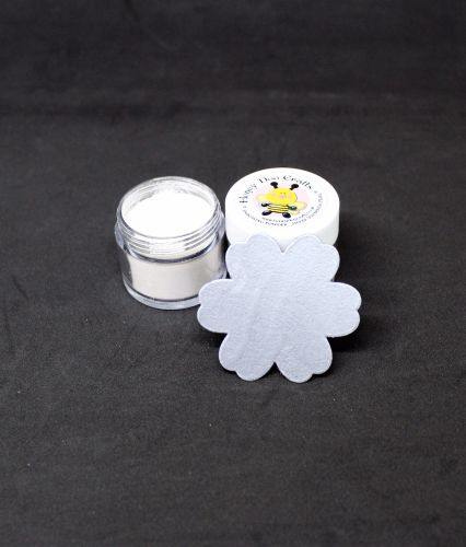 Honey Doo Crafts - Embossing Powder - Silver Sovereign  Pearl