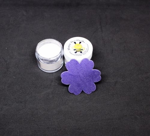 Honey Doo Crafts - Embossing Powder - Violet Tanzanite  Pearl