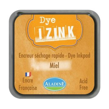 Izink Dye Based Stamp Pad - Miel (Honey)