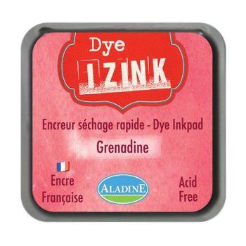 Izink Dye Based Stamp Pad - Grenadine