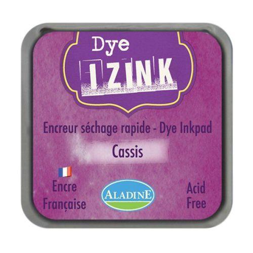 Izink Dye Based Stamp Pad - Cassis