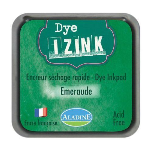 Izink Dye Based Stamp Pad - Emeraude (Emerald)