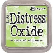 Distress Oxide - Twisted Citron