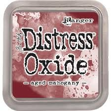 New Distress Oxide - Aged Mahogany