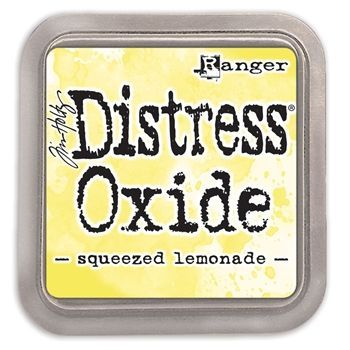 New Distress Oxide - Squeezed Lemonade