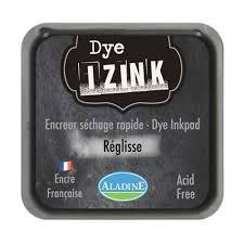 Izink Dye Based Stamp Pad - Reglisse