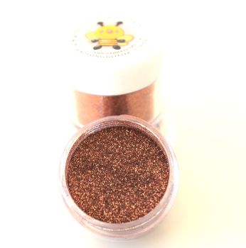Honey Doo Crafts  20ml Jar Of Embossing Glitter - Copper Classic
