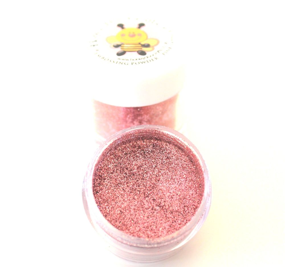 Honey Doo Crafts  20ml Jar Of Embossing Glitter - Pink Sapphire  - As Seen