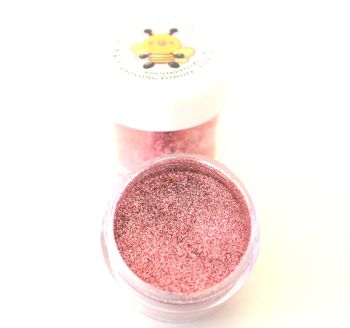 Honey Doo Crafts  20ml Jar Of Embossing Glitter - Pink Sapphire  - As Seen On TV