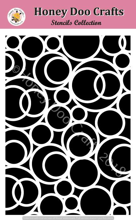 Encircle   (A5 Stencil)  (Pre Order only Dispatched 1st Week of August Limited Stock)