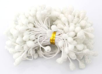 Stamens - White double ended Stamens (N2)