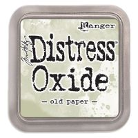 New Distress Oxide - Old Paper