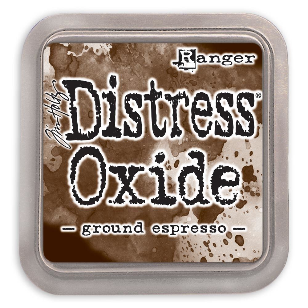 New Distress Oxide - Ground Espresso