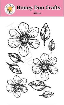 Fleur   (A6 Stamp)