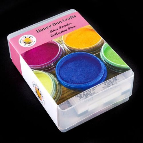 Honey Doo Crafts Mica Powder Collection Box