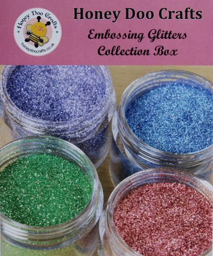 Honey Doo Crafts Embossing Glitter Collection Box