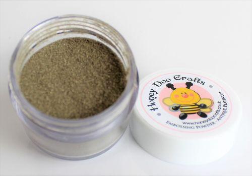 Honey Doo Crafts Embossing Glitter - Antique Platinum