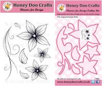 Flowers for Design Stamp and Outline Die Set