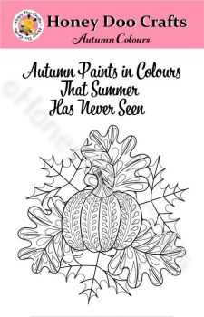 New - Autumn Colours  (A6 Stamp)