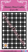 Honey Doo Crafts  - Gingham  Die