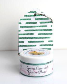 Glitter Paste - Green Emerald  100ml Jar