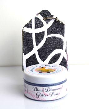 Glitter Paste - Black Diamond  100ml Jar