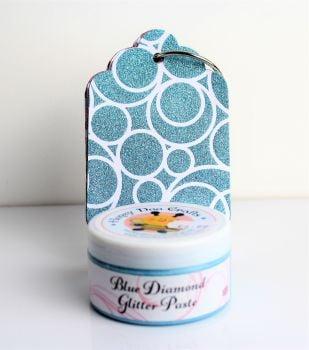 Glitter Paste - Blue Diamond 100ml Jar