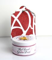 Glitter Paste - Red Tinsel  100ml Jar