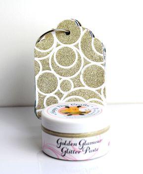 Glitter Paste - Golden Glamour  100ml Jar