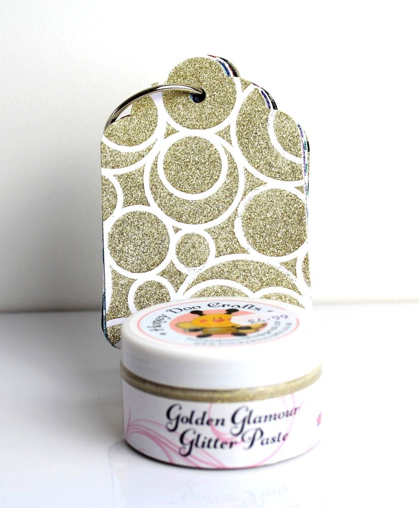 Glitter Paste - Golden Glamour  100ml Jar
