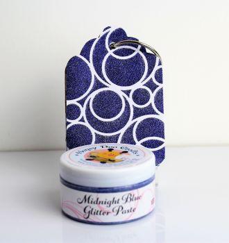 Glitter Paste - Midnight Blue  100ml Jar
