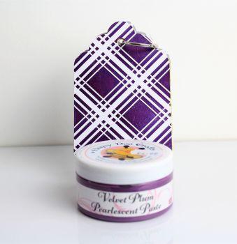 Pearlescent Paste - Velvet Plum  100ml Jar